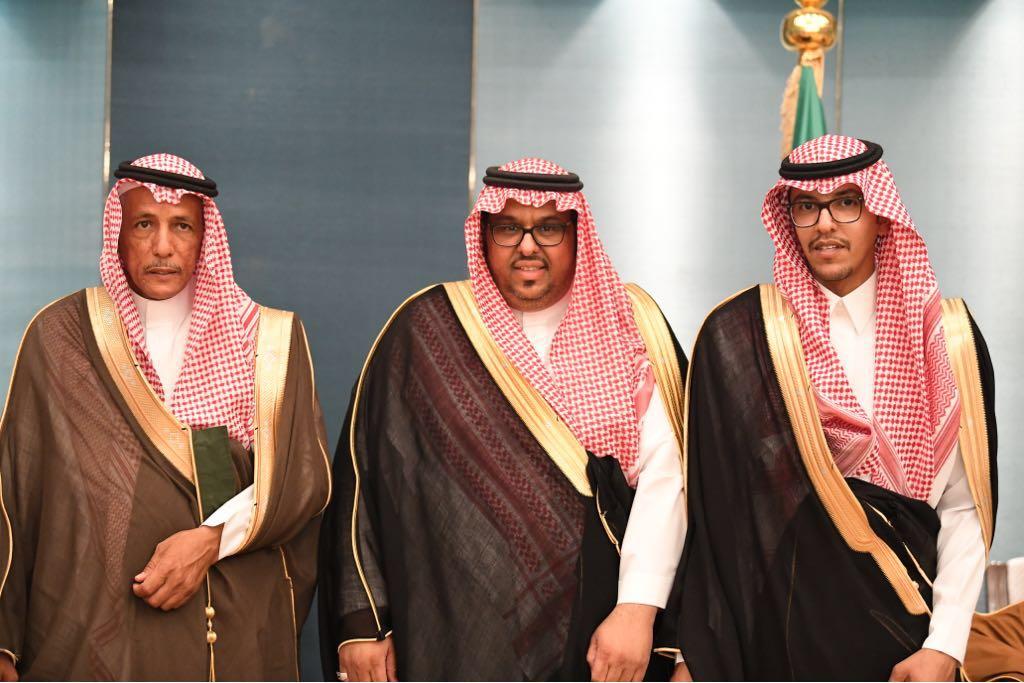 العريس، فهد سعد فهد السديري، والد العريس